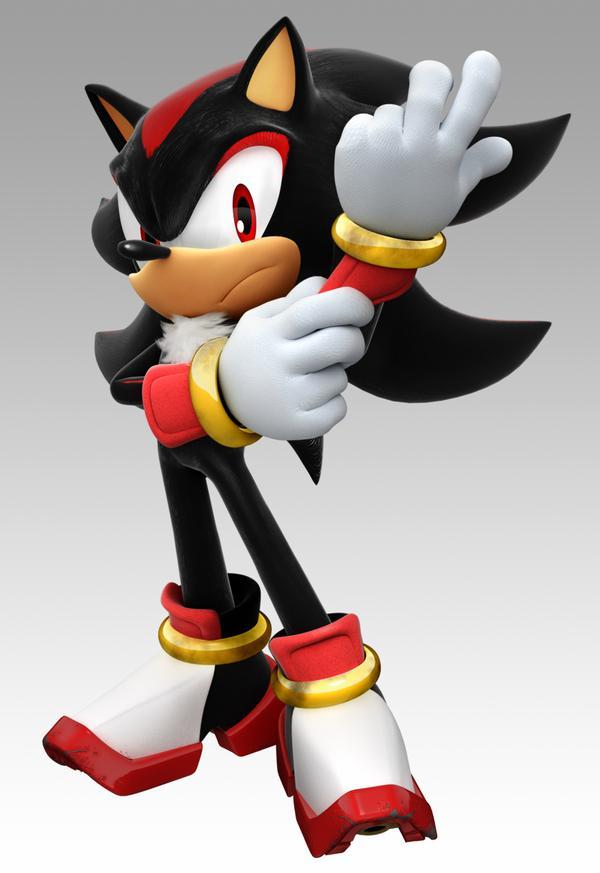 este soy yo mi nombre es shadow the hedgehog solo tengo un problema no